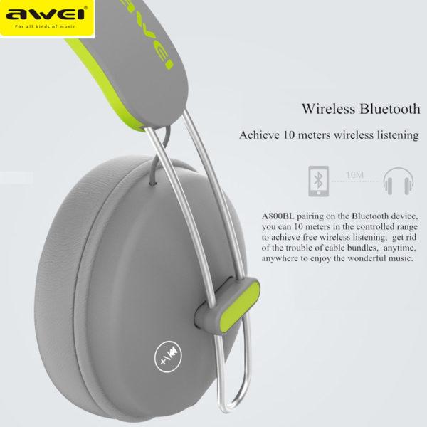 Awei A800 BL Wireless Heaphones Price in Sri Lanka