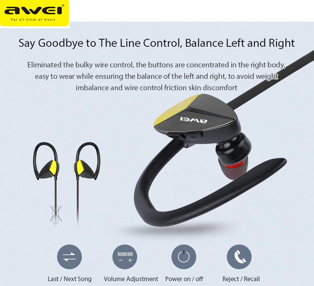 Awei A888BL SweatProof Wireless Headphones Price in Sri Lanka