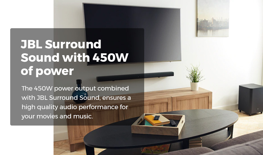 JBL 3.1 Channel SoundBar with Subwoofer Price in Sri Lanka