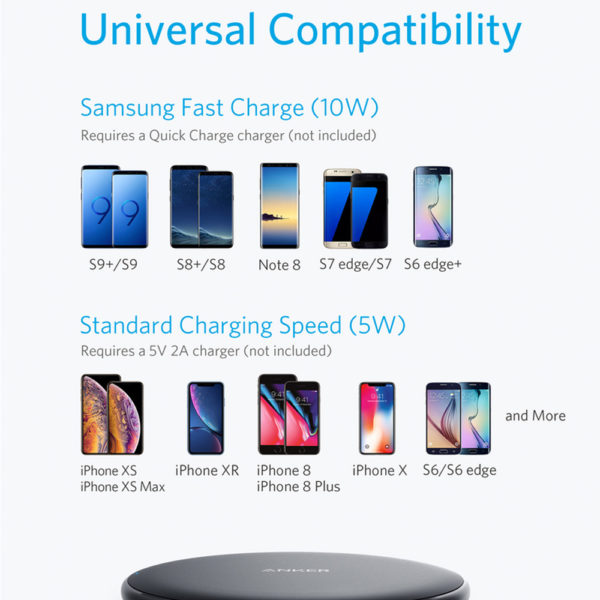 Anker 10W Wireless Charging Pad
